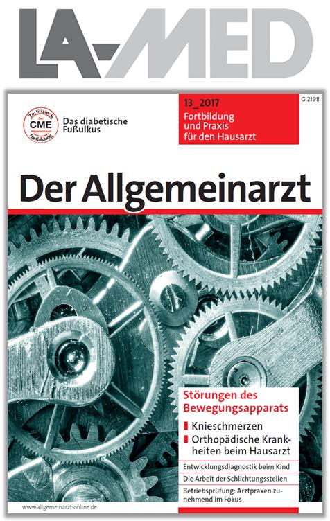 """LA-MED API-Studie 2017: """"Der Allgemeinarzt"""" mit Top-Werten"""